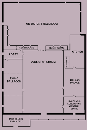 Blueprint of the event space